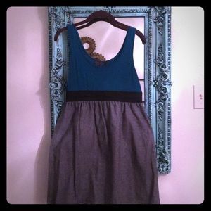 Tops - Blue and gray tank